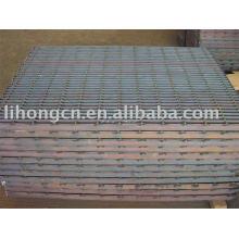 Steel grating , metal grate , floor and walkway