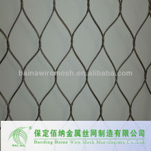 Fashionable stainless steel cable zoo mesh