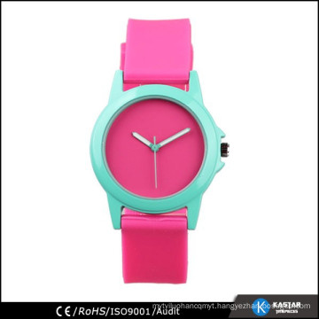 bright color silicone watch factory in Shenzhen