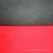 Double Color Polar Fleece Plain Knit Composite Fabric