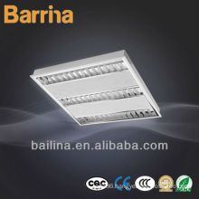 Matt Aluminum Reflector T5 Embeded Grille Lamp for office room