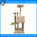 Durable Oxford Quilting Stylish Fabric Cat Tree House