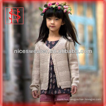 vintage tassels long sleeves v neck knitting patterns children cardigan kids