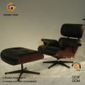 Chaise de bureau de loisirs bois rose (GV-EA670)