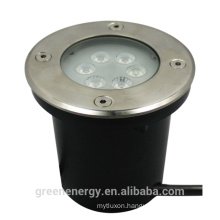 led pressure sensitive light 5years warranty 7w led inground underground yard mining light