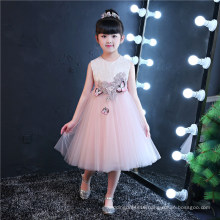 Sequin Embroidery Prom Gown Girl Dress for Wedding