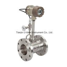 Medidor de fluxo Vortex (Inteligente com compensação de temperatura e pressão)