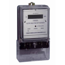Single Phase Electronic Meter Measuring Instruments Kwh Meter