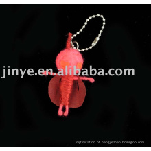 corrente chave da boneca feito sob encomenda do voodoo da corda do presente de prmoiton