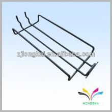 Étagère en fil métallique pour écran de fil Slatwall