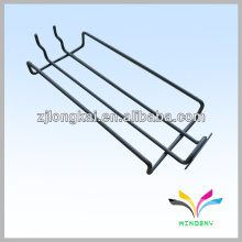 Slatwall wire display metal supermarket shelf