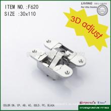 Bisagra ajustable 3D ajustable