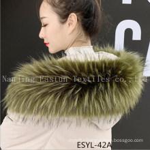 Fur Stripe and Fur Collars Esyl-42A