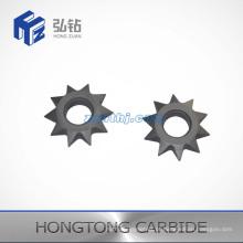 Diferentes tipos e tamanhos de ferramenta de carboneto de tungstênio
