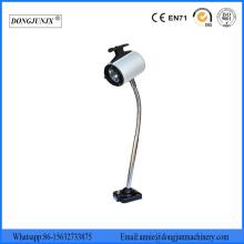 Lámpara de trabajo halógena de cuello de cisne impermeable a la luz de la máquina