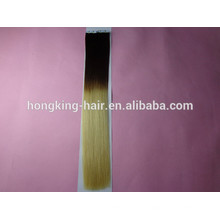100% Human Remy Tape Hair Extensions ombre tape hair extensions