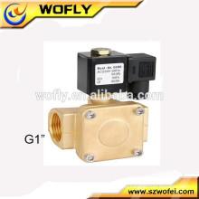 Válvula de solenoide 230v de tipo agua de alta presión