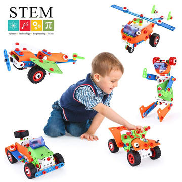 Amazon STEM Toy Supplier Assembled Building Block Kids and Educational