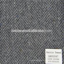 Fabric herringbone wool for coat of men and women