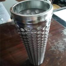 Éléments filtrants frittés en acier inoxydable 304