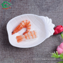 China supplier Cheap Ceramic pineapple shape Plates/Dishes