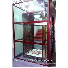 Cristal elevador residencial para el hogar