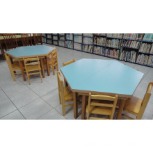 Kids Used Wooden Eco material Round Table