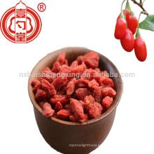Ningxia cuenta 380 goji berry para dropshipping