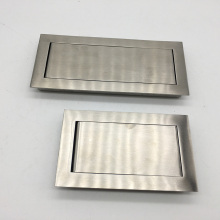 Sliding handle tempered glass shower door handle