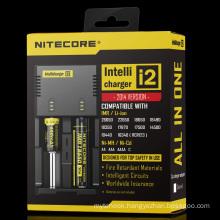 New Nitecore I2 1A Dual USB Charger 18650 Li-ion Battery Charger