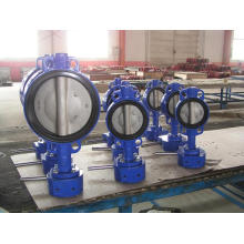 Double-Axis Valve Without Pin Soft Seat with EPDM Seat