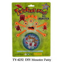 DIY Novelty Mouster Putty Toy