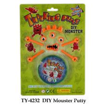 DIY novidade Mouster Putty Toy