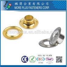 Hecho en Taiwán Hoja de metal redonda del precio bajo de alta calidad Grommet