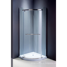 Pantalla simple de la ducha de cristal del recinto de la ducha de las mercancías sanitarias