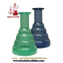 2014 новый стиль красивая стеклянная ваза кальян