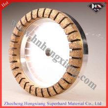 Roda de moedura de diamante de metal Diamond para borda de vidro