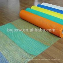Tissu enduit de maille de fibre de verre alcali-résistant / filet de fibre