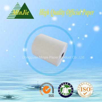 Tipo de papel del registro de efectivo Rollo de papel térmico ATM 80 * 80mm Tamaño
