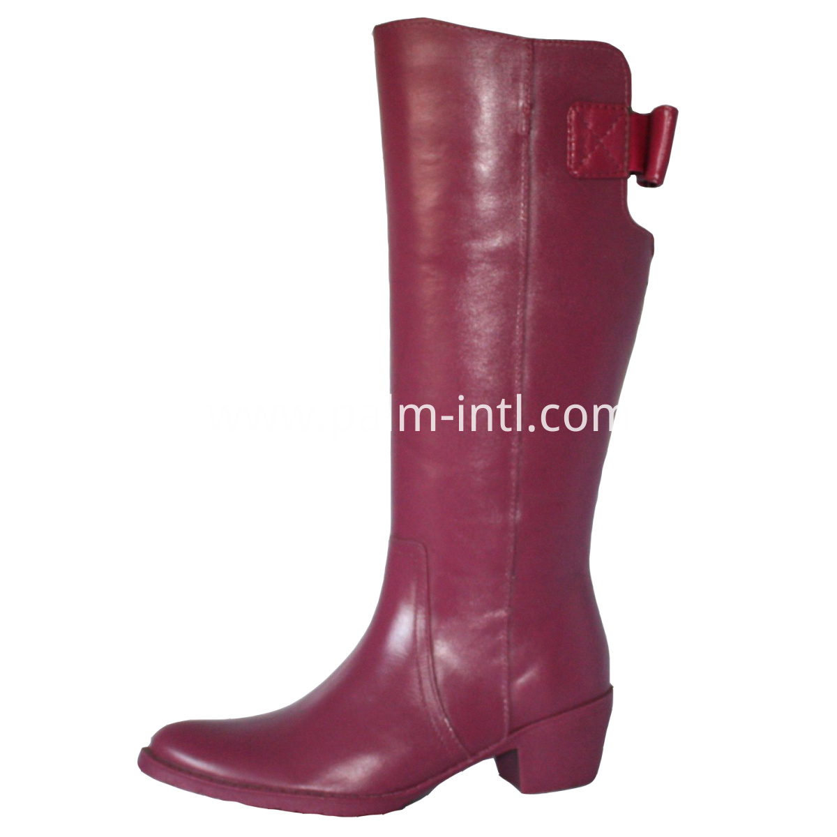 Leather-like Slush-Mouded Boots
