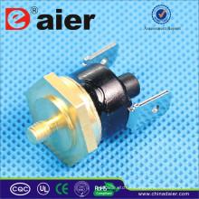 Thermostat de réinitialisation manuelle de KSD301 5/10 / 15A 250VAC 50 ~ disjoncteur de tête de KSD301-HR2 Hexagan de 180 degrés
