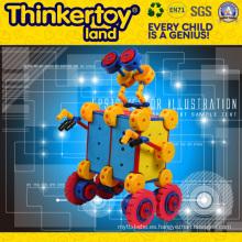 Herramientas educativas creativas juguete plástico del bloque hueco para el cabrito