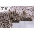 Tejido de tapicería Jacquard 100% poliéster moderno