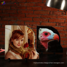 Sunmeta factory directly 3D sublimation rock slate photo SH34 30*30cm