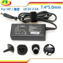 laptop AC power adapter charger for hp 18.5V 3.5A 65W 7.4*5.0mm made in china