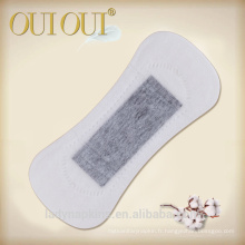 Ions personnalisées serviettes hygiéniques entreprises échantillon gratuit doublure de culotte