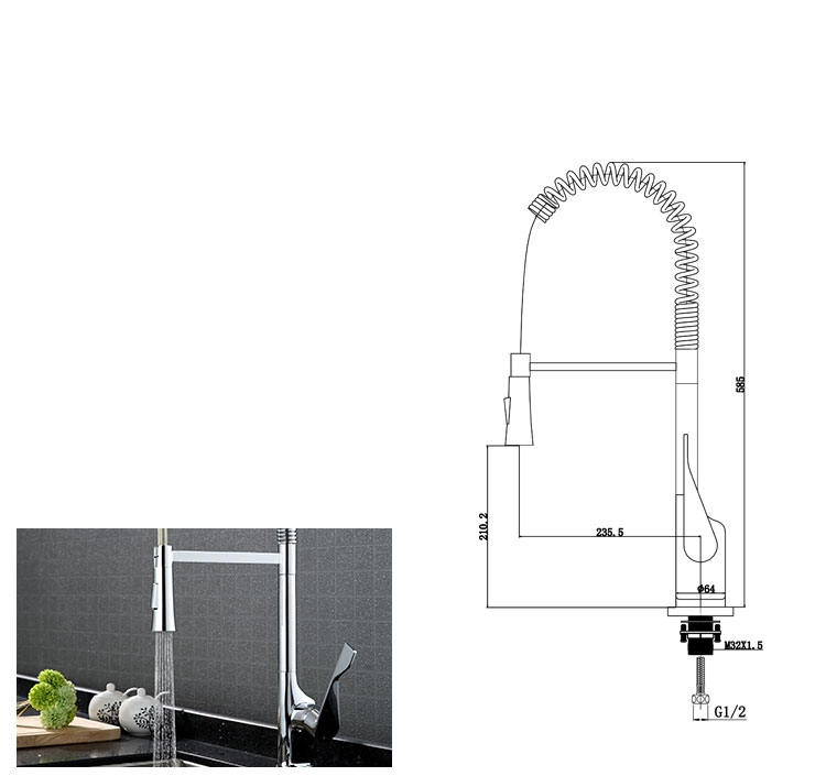 Double Temperature Double Control Faucet