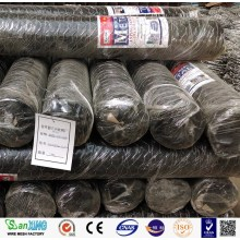 hot dip galvanized hexagonal wire mesh fence