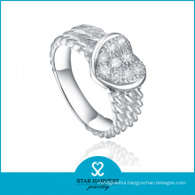 Charming Vitality 925 Sterling Silver Ring with Customed Logo (R-0570)