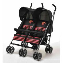 Детская прогулочная коляска Twins с сертификатом En1888